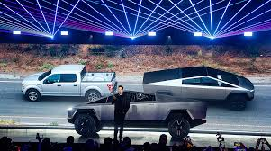 100 Truck Pulling Videos Ford Challenges Tesla To A Tug Of War Transport Topics