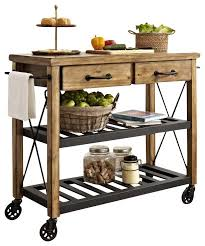 Roots Rack Industrial Kitchen Cart Islands Intended For Island Decor 9