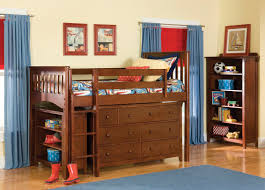 Low Loft Bed With Desk Plans by Loft Bed With Desk Ikea Best Loft Bed With Dresser For Children
