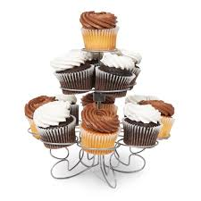 fancy wire cupcake stand bx