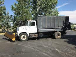 100 Truck With Snow Plow 1981 Ford F700 DumpFlatbedChip With For Sale