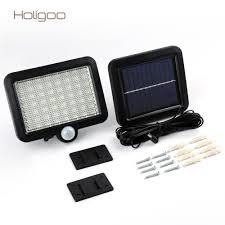 Holigoo Solar Power 56 Led Solar Light Outdoor Led Garden Lights