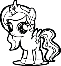 My Little Pony Coloring Pages Free Quality Cute Page Sheets Pdf Baby Rarity