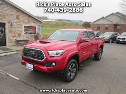 100 Toyota Tacoma Used Trucks 2018 TRD Sport 4WD For Sale In Cambridge