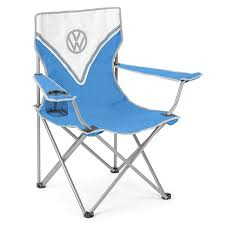 Volkswagen Folding Camping Chair, Lightweight Portable, Padded Seat, Cup  Holder, Travel Carry Bag, Officially Licensed Volkswagen Folding Camping Chair Lweight Portable Padded Seat Cup Holder Travel Carry Bag Officially Licensed Fishing Chairs Ultra Outdoor Hiking Lounger Pnic Rental Simple Mini Stool Quest Elite Surrey Deluxe Sage Max 100kg Beach Patio Recliner Sleeping Comfortable With Modern Butterfly Solid Wood Oztrail Big Boy Camp Outwell Catamarca Black Extra Large Outsunny 86l X 61w 94hcmpink