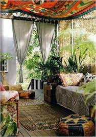 Moroccan Themed Outdoor Patio Decorating Ideas Love This Eclectic Screened In Porch Idea W