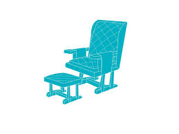 Chair Cushions Walmart Canada by Glider Or Rocker And Ottoman Glider Rocker Recliner Glider Rocker