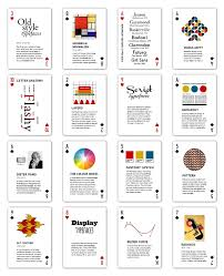 Anki Shared Decks Swedish by The Design Deck A Playing Card Guide To Graphic Design By Ben