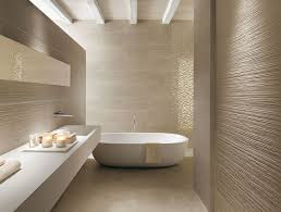 moderne badezimmer fliesen textur mosaik creme entspannte