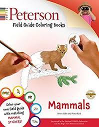 Peterson Field Guide Coloring Books Mammals Color In