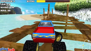 100 Truck Race Games Monster 3D Car Racing Game Monster Videos For