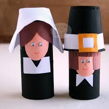 Easy Toilet Paper Roll Pilgrim Craft