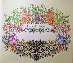 Enchanted Forest Name Page To Follow Adult ColoringColouringColoring BooksSecret GardensJohanna