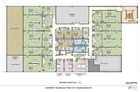 Lab & office floor plans