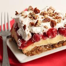 Layered Cherry Cheesecake 3