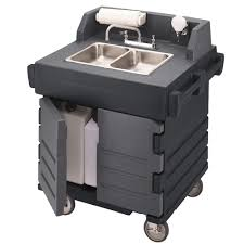 Ozark River Portable Hand Sink by Portable Sink Single Deep Basin Portable Sink W Extra Storage