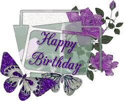 Gleaming Happy Birthday Graphic