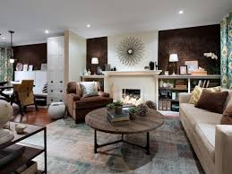 Grey Brown And Turquoise Living Room by Living Room Best Hgtv Living Rooms Design Ideas Gray And