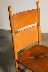 Set Of Six Kentucky Chairs By Carlo Scarpa For Bernini At ...