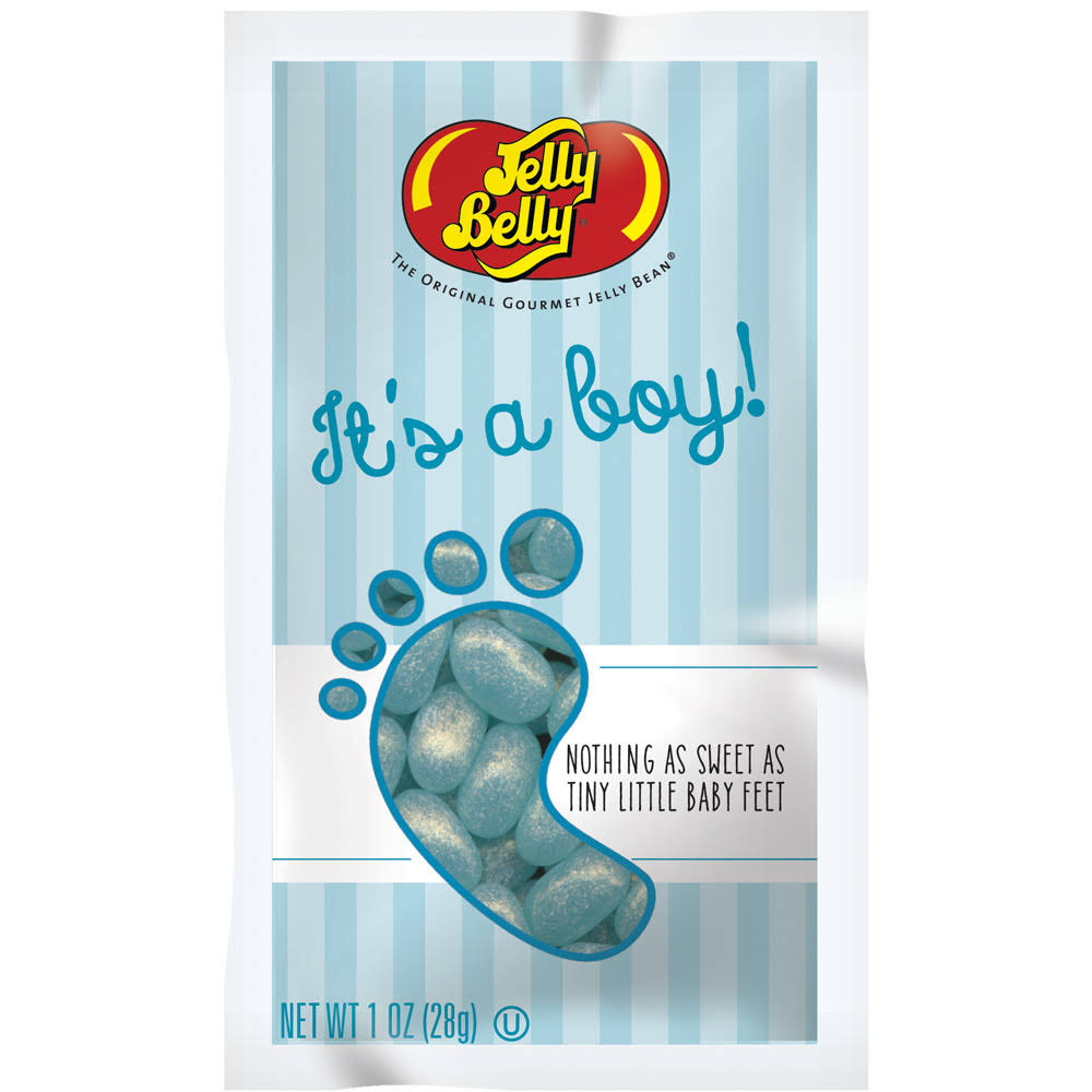 Jelly Belly It's a Boy Jelly Beans - Blue, 1oz