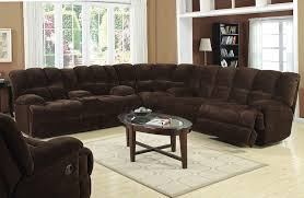 Chocolate Corduroy Sectional Sofa by Reclining Corduroy Sectional Sofa By Coaster Traditional Sectional