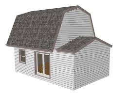 10x12 Gambrel Shed Material List by Gambrel Roof Barn Plans Gambrel Barn Blueprints And Plans