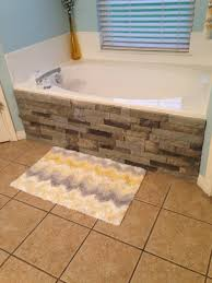 Sacramento Bathtub Refinishing Contractors by Easily Update Your Boring Built In Bathtub With Faux Stone