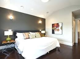 Walls Bedroom View In Gallery Grey Accent Wall A White Anticipation