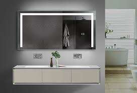 led warm kalt weiß licht badezimmer wand hänge spiegel mit