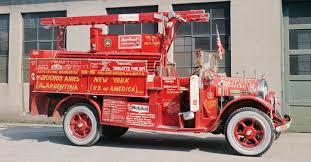 Argentine Firefighter's Drive 1925 Brockway Truck Seventeen-Thousand ...