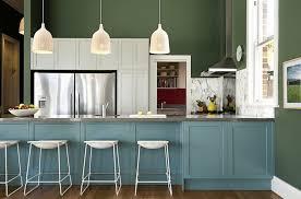 Sage Green Kitchen White Cabinets by White Kitchen Green Walls Interior Design