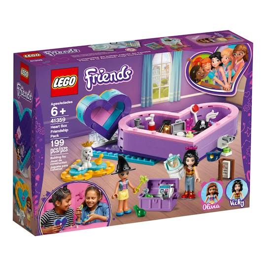 Lego Friends Heart Box Building Block Puzzle Toy Kit - Friendship Pack