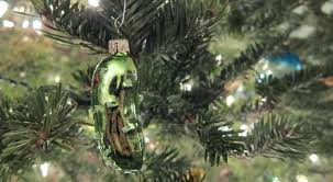 Pickle On Christmas Tree Myth by The Legend Of The Weihnachtsgurke Kirby U0026