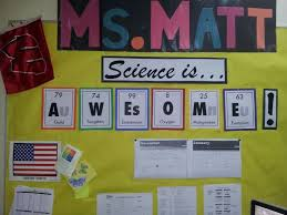 Great Classroom Bulletin Board Ideas For Middle School Science