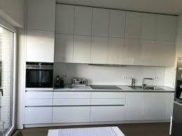 küche interline in hochglanz kristallweiß