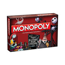 Nightmare Before Christmas Bath Toy Set by Tim Burton U0027s The Nightmare Before Christmas Monopoly Game Shopdisney