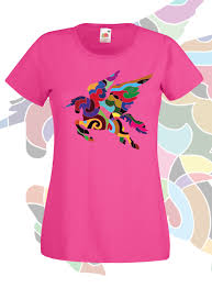 unicorn t shirt graphic tee women rainbow horse horse lover