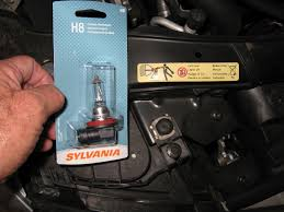 bmw h8 bulb replace by froggy passenger side