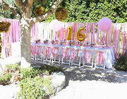 SWEET 16 Party At Home