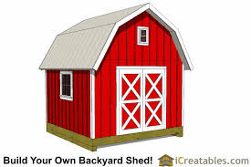 12x12 Shed Plans Pdf by 12x12 Gambrel Shed Plans 12x12 Barn Shed Plans