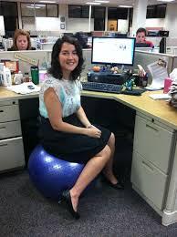 Yoga Ball Office Chair Amazon by Desks Gaiam Custom Fit Balance Ball Chair System Exercise Ball