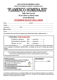 salle jean lurat begles homenajes spectacle de fin d ée de la peña copas y compas