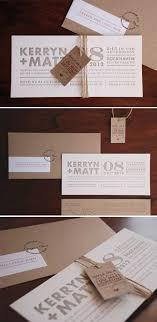 Kraft wedding invitations envelopes luggage tag all bundled up with