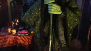 Grandin Road Halloween Haven by Life Size Endora The Witch Halloween Figure Grandin Road Youtube