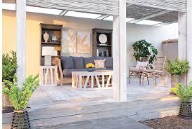 Nolana Charcoal Sofa Set by Otb Hayden Charcoal Sofa Living Spaces