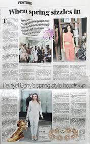 Daniyel Berrys Spring Style Heads Up