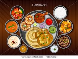 traditional cuisine illustration traditional cuisine food meal thali เวกเตอร สต อก