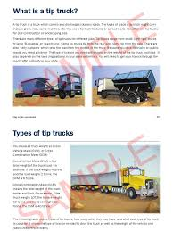 Tip Truck Sample | Truck | Land Transport