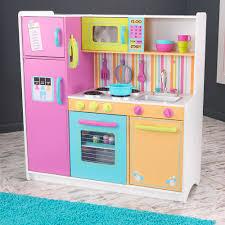 cuisine bois kidkraft grande cuisine colorée pour enfant