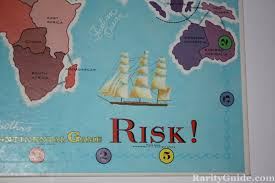 Risk Board Game Parker Brothers 1968 Playing Close Up